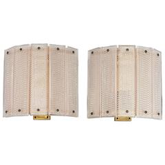 Pair of Swedish Wall Lights