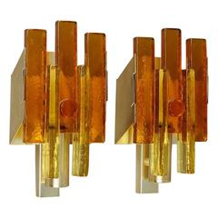 Pair of Wall Lights Svend Aage Holm Sorensen Attributed