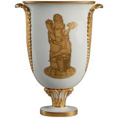 Vase by Gio Ponti Produced by Richard Ginori, Italy, 1928