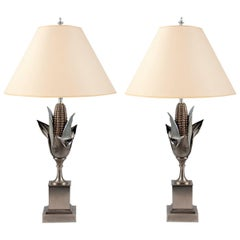 Pair of Lamps by Maison Charles, France, circa 1960