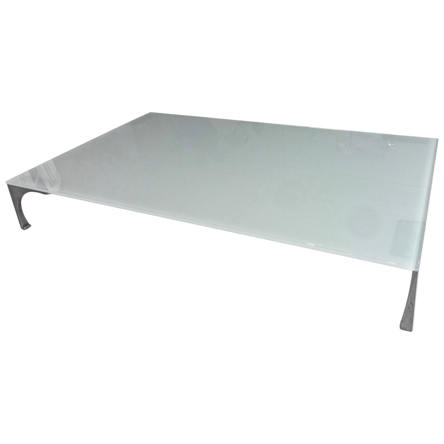 Roche bobois steel and glass cocktail coffee table for sale at 1stdibs Roche bobois coffee table