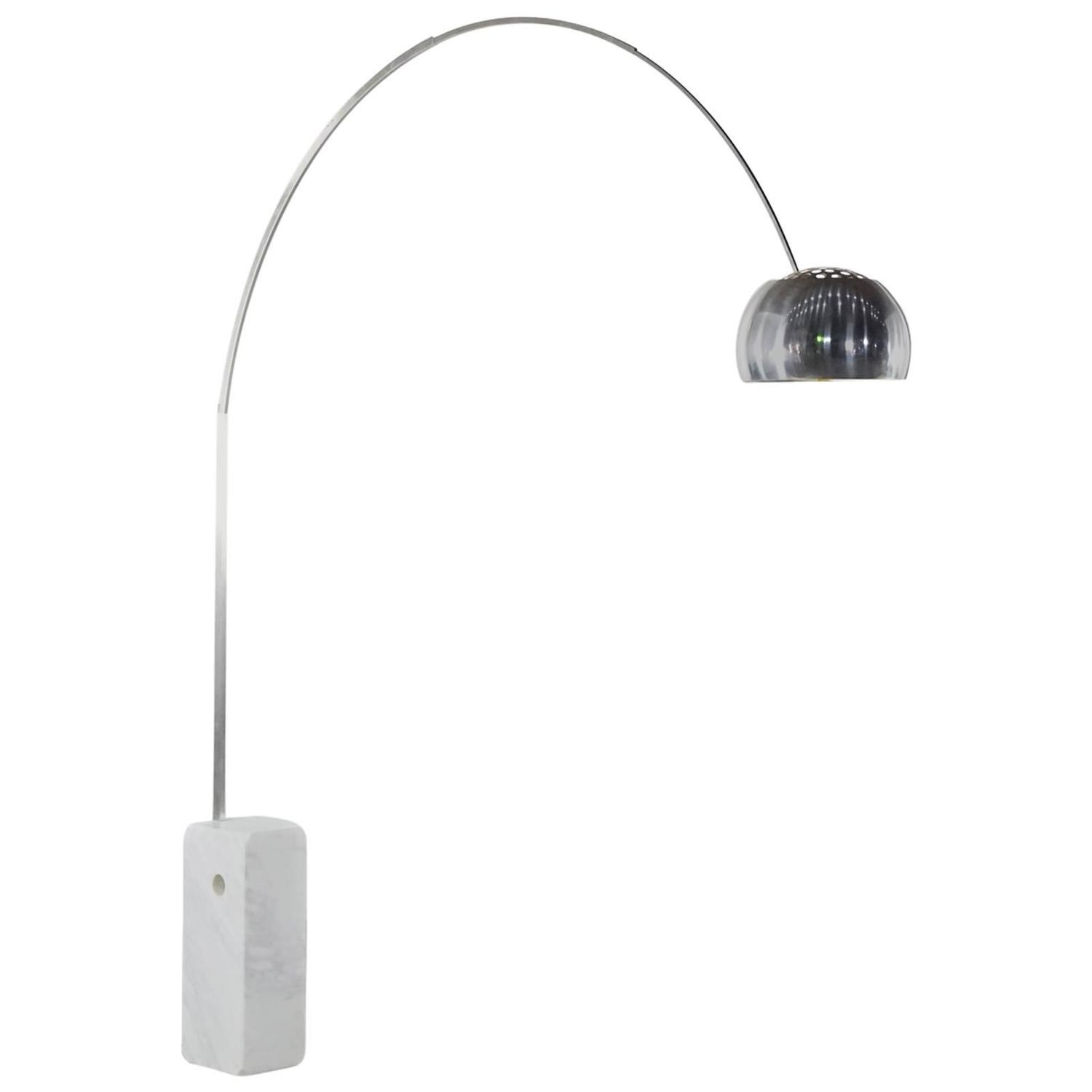 Arco flos floor lamp by achille and pier giacomo for Flos castiglioni arco