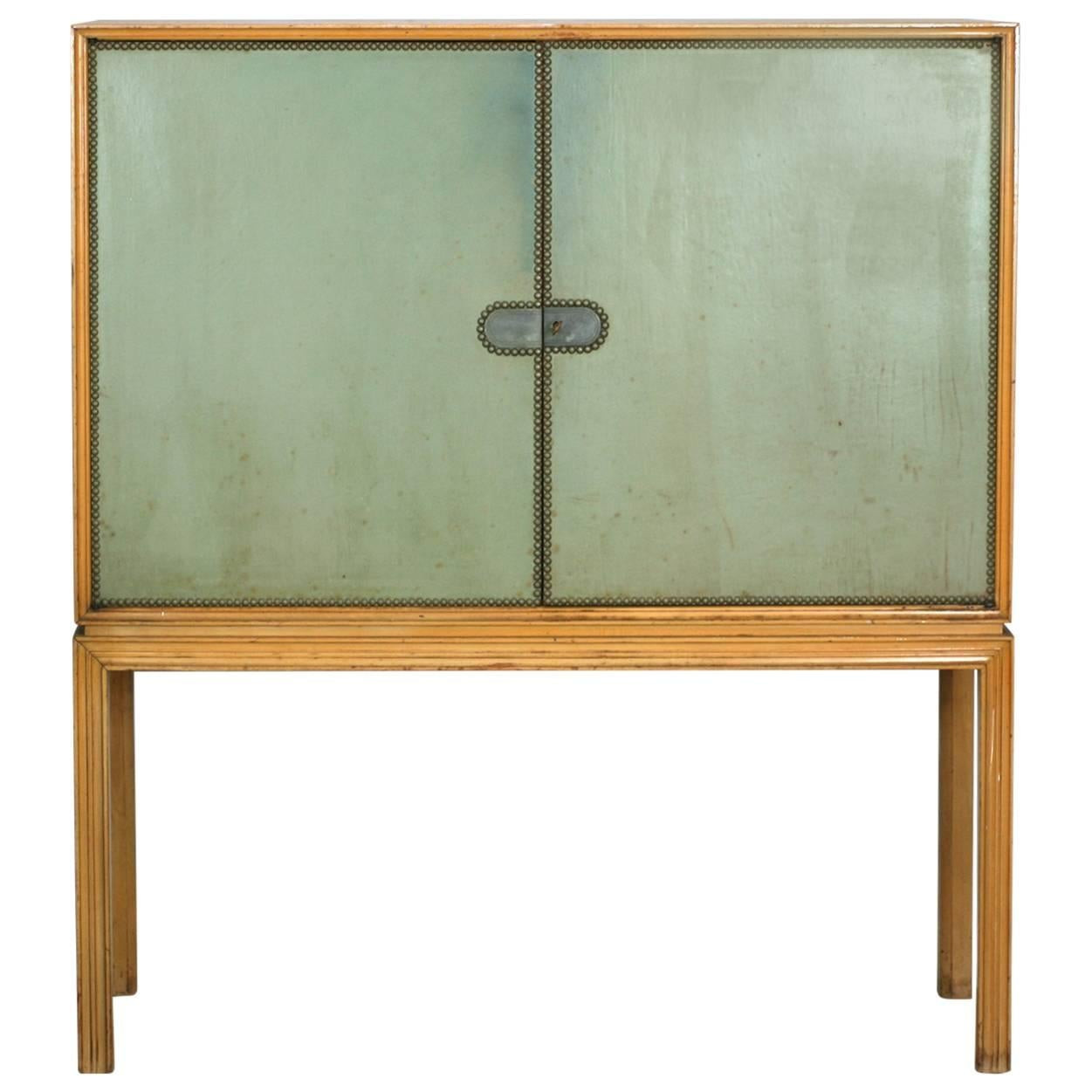 Tommi Parzinger Chest on Stand, Charak Modern