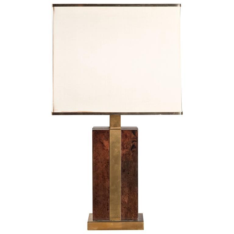 Table Lamp Attributed to Romeo Rega