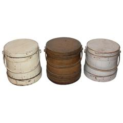 Group of Three Assorted Furkins or Buckets