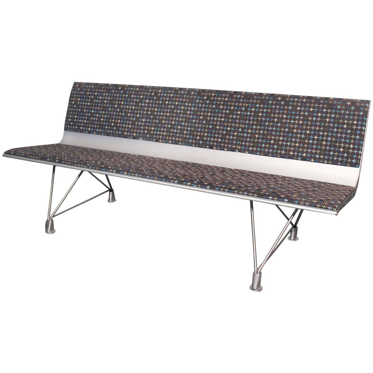 Aero Aluminum Bench from Davis Furniture by Lievore Altherr Molina and  Sellex For Sale at 1stdibs