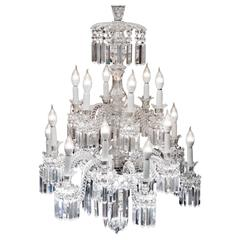 Baccarat chandeliers and pendants 53 for sale at 1stdibs important crystal chandelier of baccarat france 1850s aloadofball Choice Image