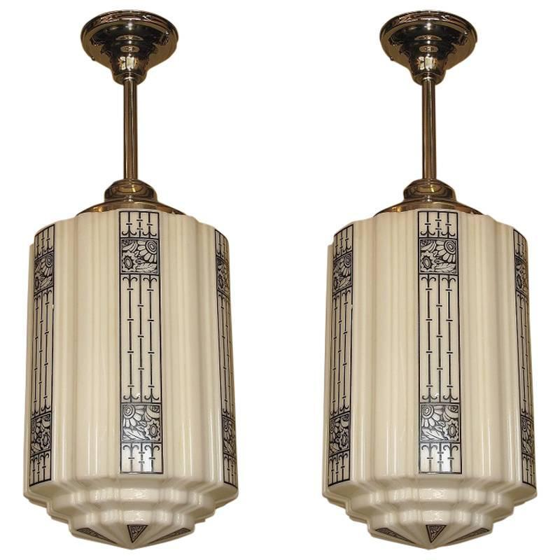 large art deco commercial fixtures 1920s at 1stdibs