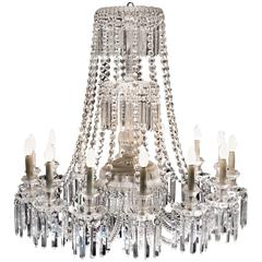 Crystal Chandelier, France, 1870s