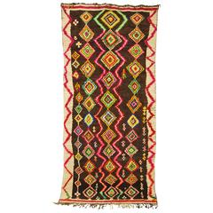 Moroccan Hand Loomed Wool Ourika Rug, Atlas Mountains