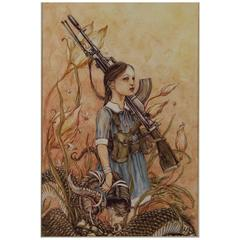 Front Line of the Glando-Angelinnian War 'Henry Darger Theme', Jeremy Hush, 2015