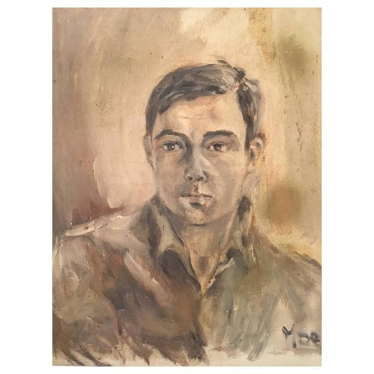 Postwar Portrait of a Young Man