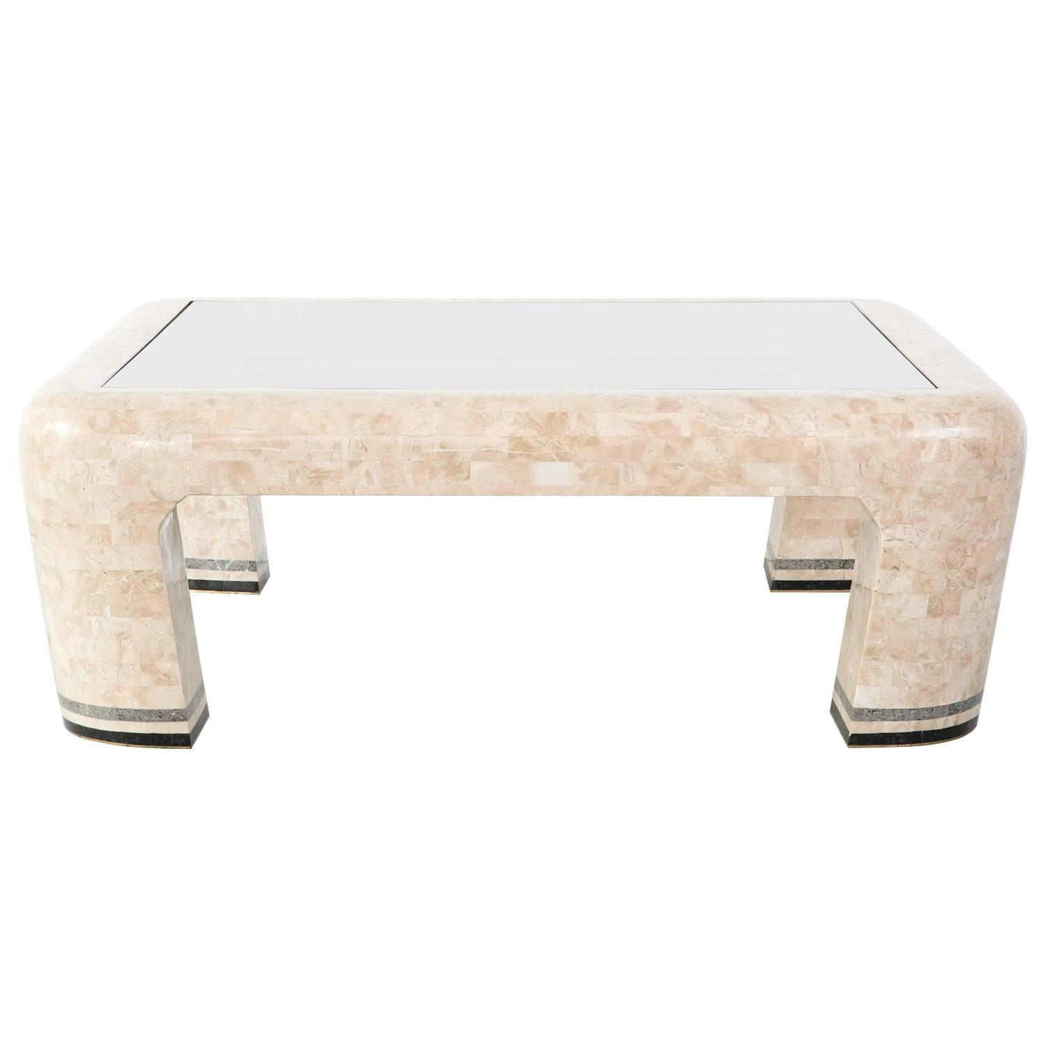 - Maitland Smith Tessellated Stone Coffee Table For Sale At 1stdibs