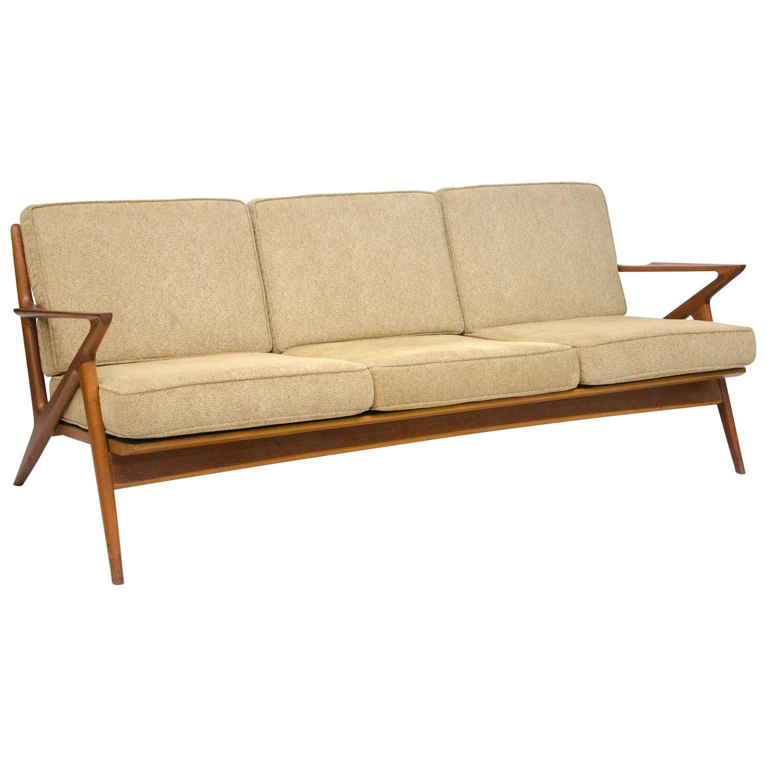 Stupendous Danish Teak Z Sofa Poul Jensen For Selig At 1Stdibs Alphanode Cool Chair Designs And Ideas Alphanodeonline