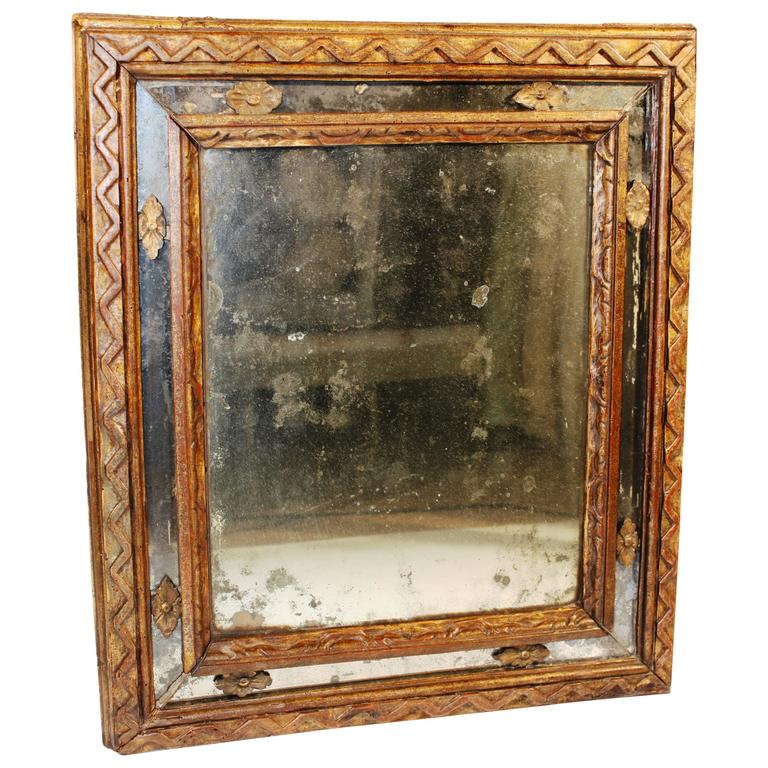17th Century Italian Neoclassical Mirror