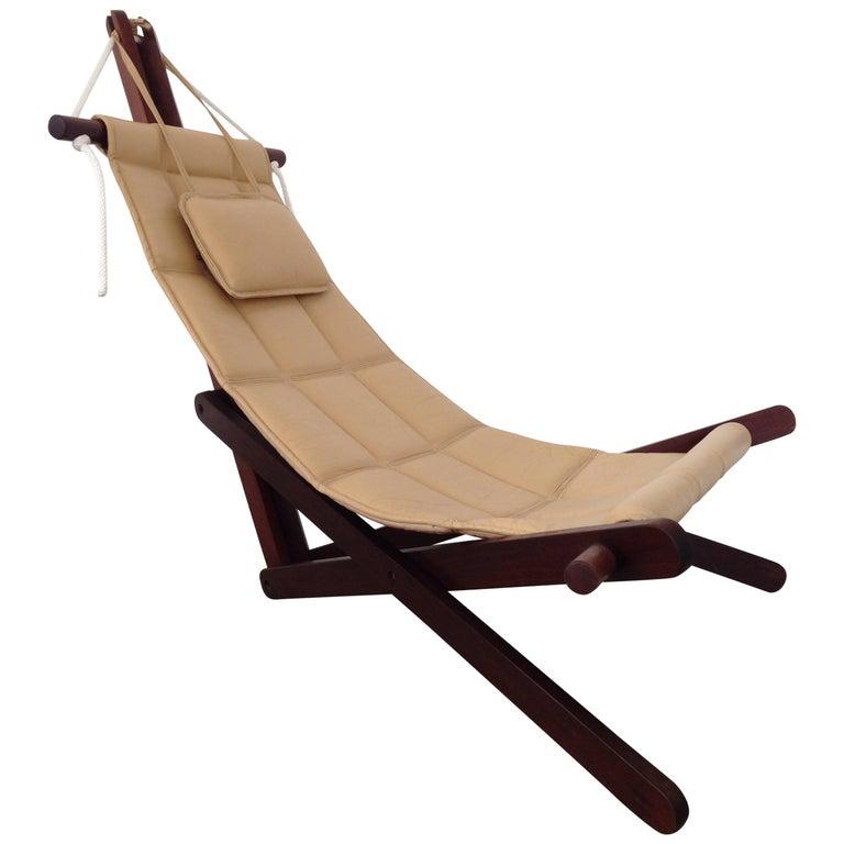 "Rare Dominic Michaelis ""Sail Chair"" for Moveis Corazza"