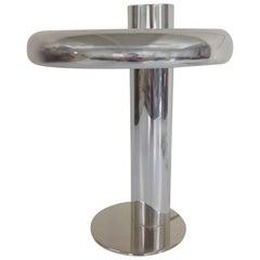 Original Polished Aluminum Laurel Lamp