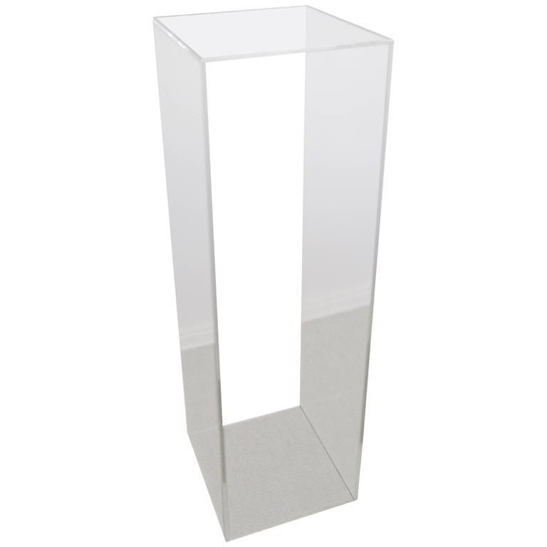 Acrylic Pedestal Stand For Sale
