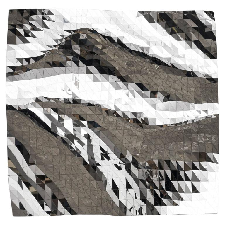 The Mashing Mesh Series is the latest design collection by celebrated Chinese designer Zhoujie Zhang in 2016. The Series starts with Zhoujie's obsession with parametric design and mesh grids. He simulates the waves of the water using his programs,