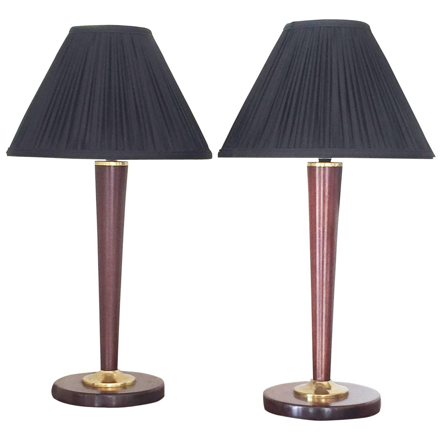 pair of large french art deco lamps for sale at 1stdibs. Black Bedroom Furniture Sets. Home Design Ideas