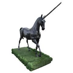 Licorn in Bronze Sculpture by Arnaud Kasper