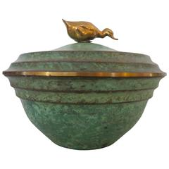 Art Deco Bronze piece by Carl Sorensen