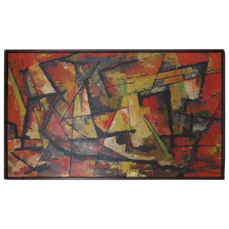 20th Century Abstract Painting by Manger