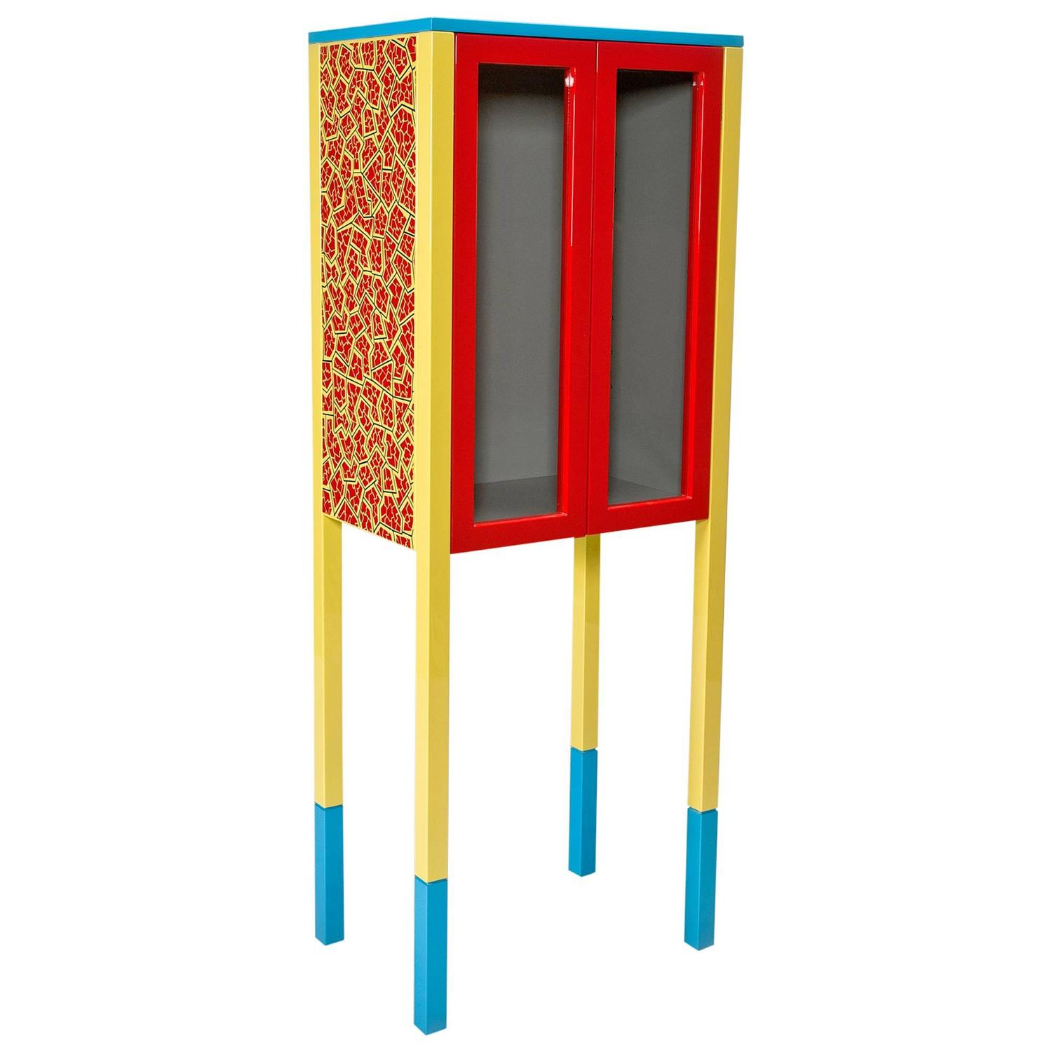 D\'Antibes Cabinet by George Sowden for Memphis For Sale at 1stdibs