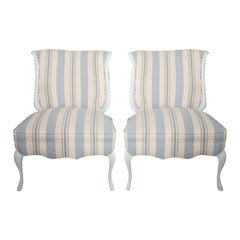 Hamptons Decorators Side Chairs