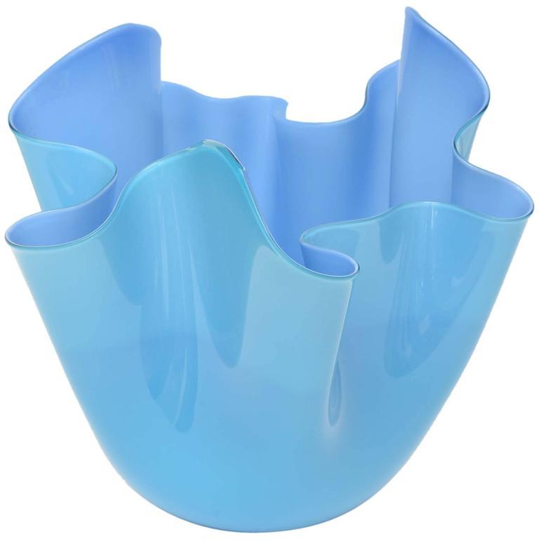 Venini Fazzoletto Bowl For Sale