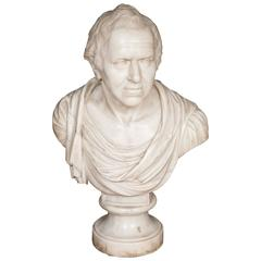 Very Fine Grand Tour Bust of an Irish Gentleman