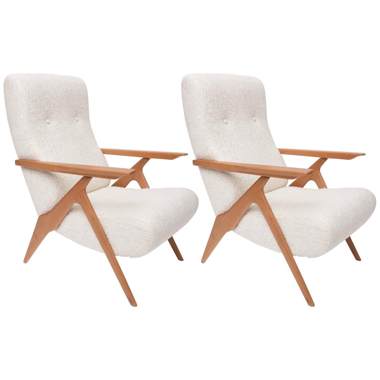 Piuma Adjustable Lounge Chairs By Carlo Mollino For Antonino Gorgone
