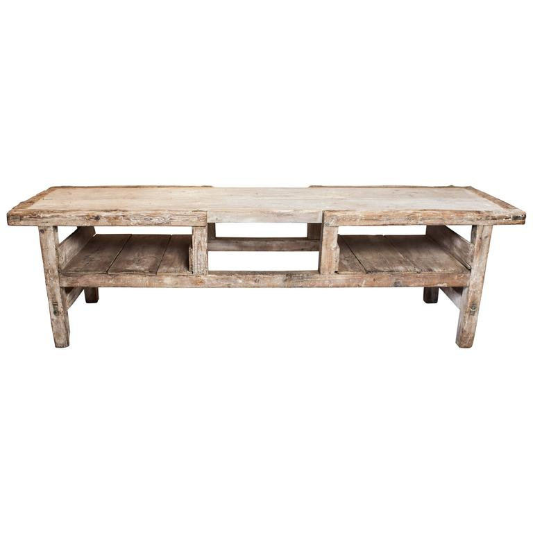 Late 19th Century Italian Sculptor's Table