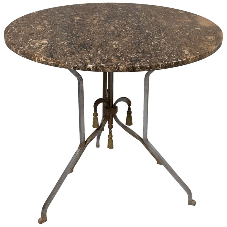 Jansen Attributed to Round Occasional Table For Sale