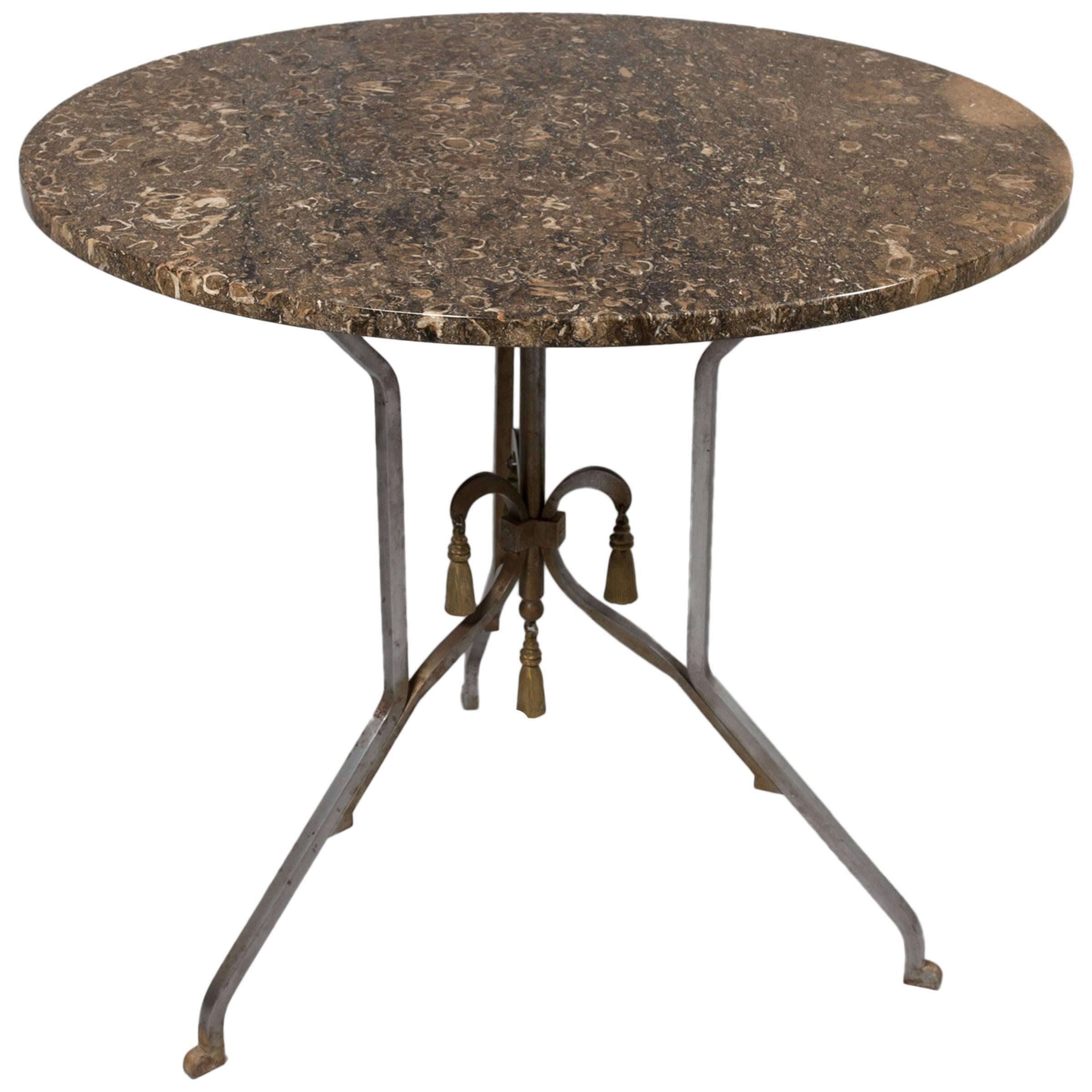 Jansen Attributed to Round Occasional Table