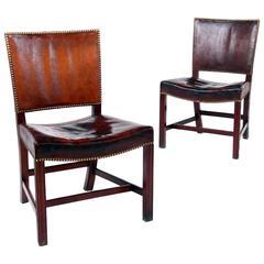 Kaare Klint, Pair of 'Red Chairs'