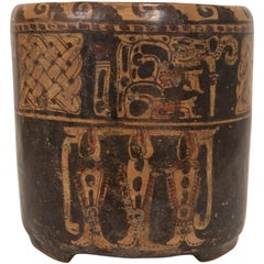 Mayan Cylinder Vessel