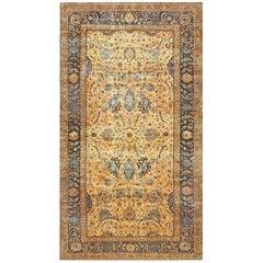 Oversized Antique Persian Kerman Rug