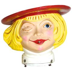 Buster Brown Shoe Store Fiberglass Advertising Display Piece, circa 1970s