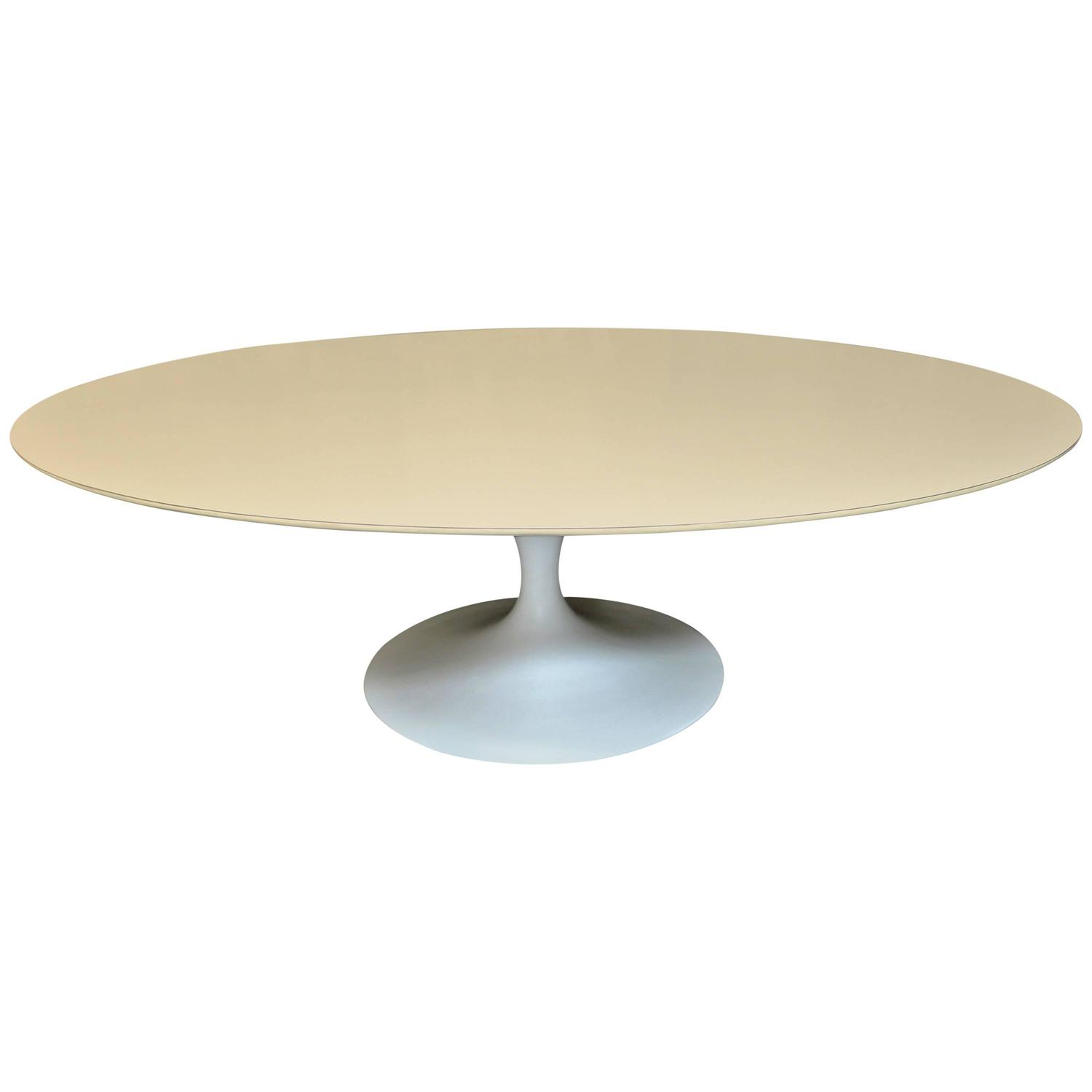 Eero Saarinen Tulip Coffee Table For Knoll At 1stdibs