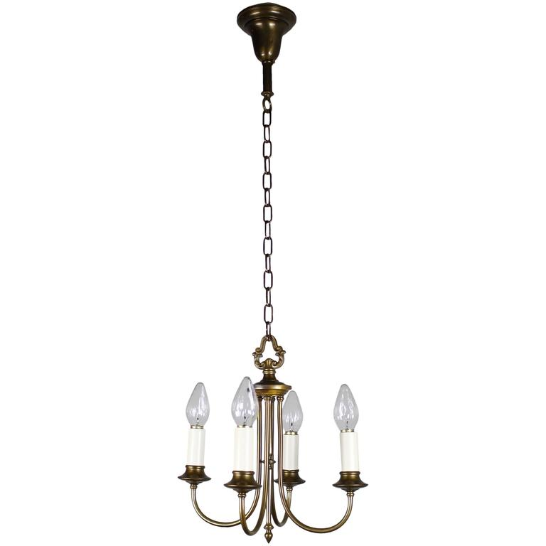 Colonial Revival Candelabra Style Fixture For Sale At 1stdibs