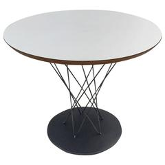 Early Production Cyclone Childs/Side Table Designed by Isamu Noguchi for Knoll