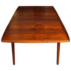 Danish Modern Teak Banquet Table Designed by Erik Wørts, circa 1953