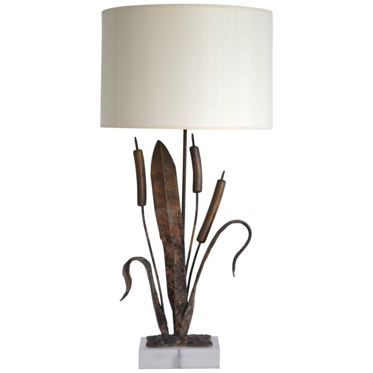 Postmodern Brutalist Sculptural Table Lamp