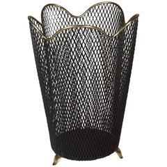 Mesh Wastepaper Basket by Aubock