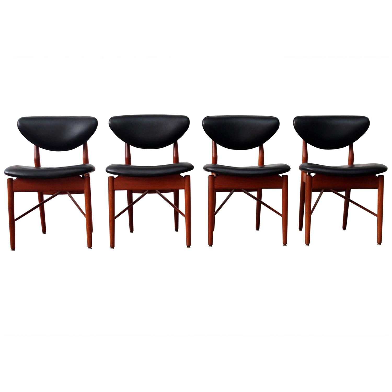 Finn Juhl 108 Dining Chairs For Sale at 1stdibs. Finn Juhl Chair 108. Home Design Ideas