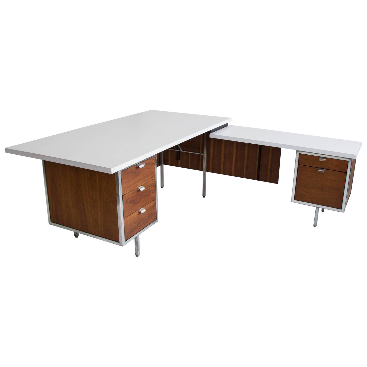 Executive desk and return by robert john for sale at stdibs