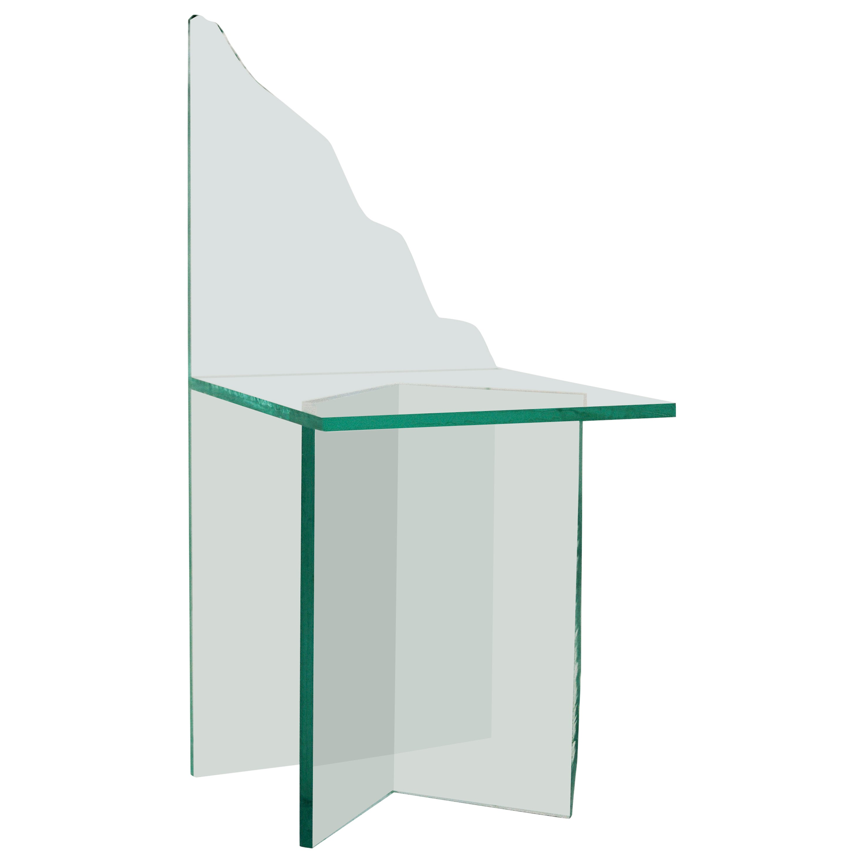 Glass Chair Three by Guillermo Santoma