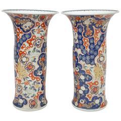 Great Pair of Imari Porcelain Vases, circa 1900