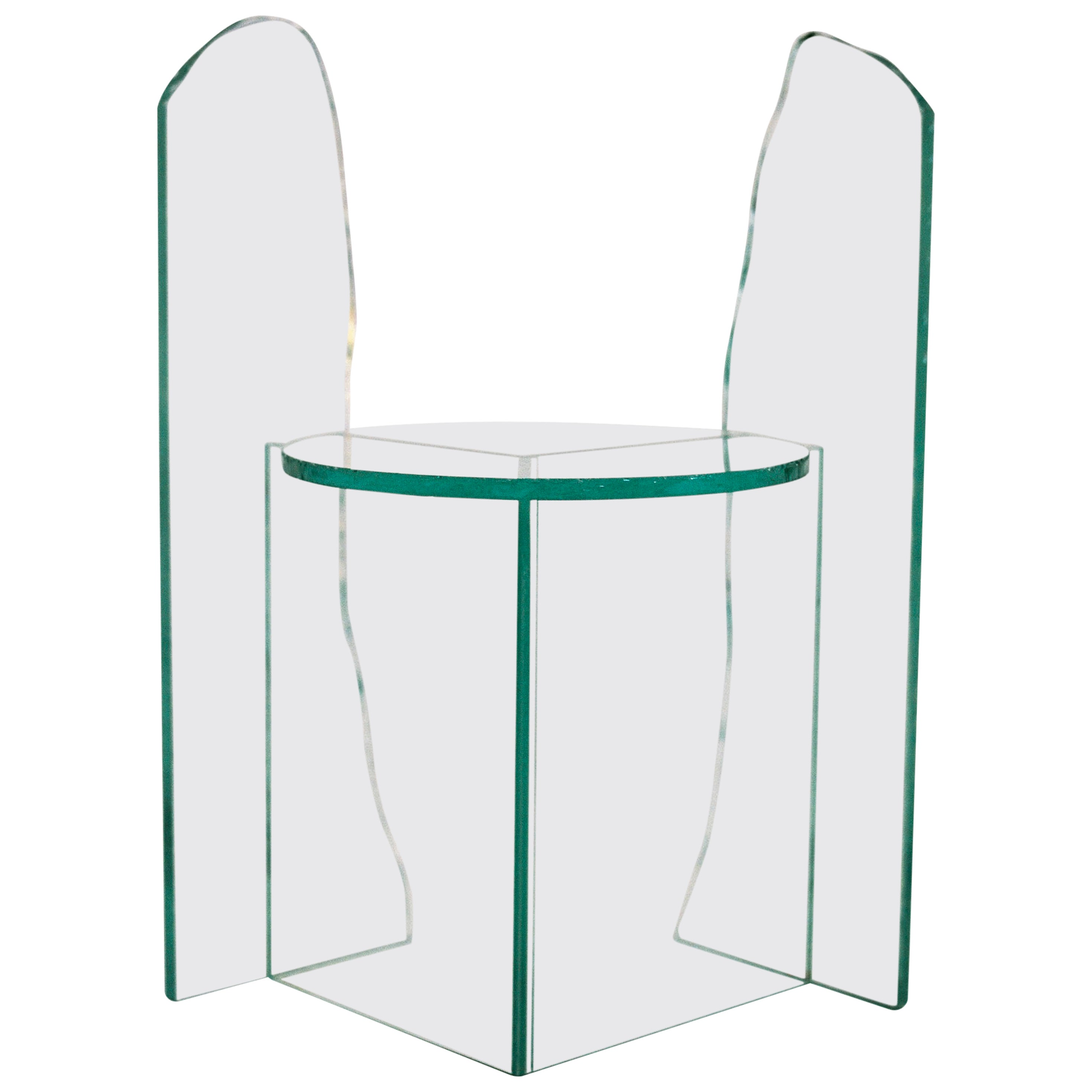 Glass Chair 1 by Guillermo Santoma